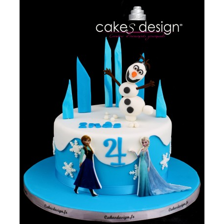 g teau d 39 anniversaire reine des neiges cakes design. Black Bedroom Furniture Sets. Home Design Ideas